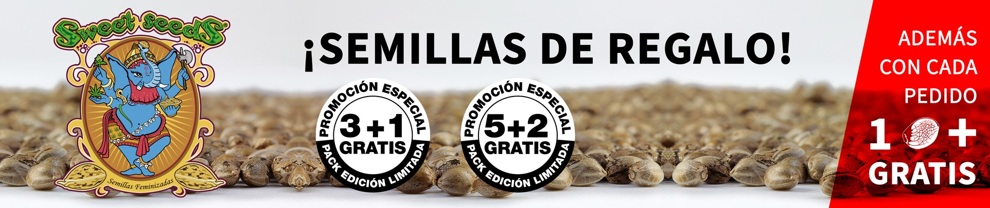 Semillas de marihuana Sweet Seeds